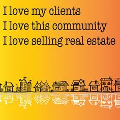 I don't just sell this community! I live here too!! #iloverealestate