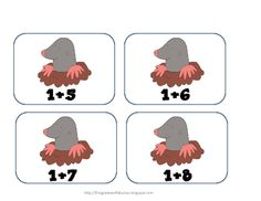 "Here's a ""Whack-a-Mole"" math game for practicing basic addition facts."