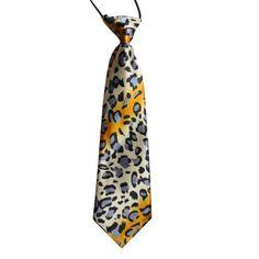 Kids-Leopard Guitar Print Neck Tie - Colour - Print Style - Standard Size Neck Tie for Kids Material - Faux Silk Size - length from top of knot and Widest Width Kids Ties, Tie Rack, Tie Shop, Tie Colors, Fashion Prints, Silk, Men, Ties Online, Australia
