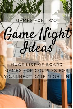 Looking for some couple games you can play with only two players? Need a fun game night you play for your next date night? Here's 100 games for date night! Date Night Games, Couples Game Night, Family Game Night, Date Night In, Fun Group Games, Family Games, Fun Games, Dice Games, Trivia Games