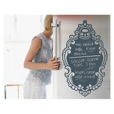 Decorative Chalkboard wall decal