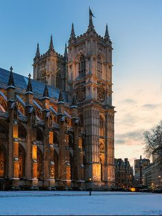Westminster Abbey - London #travelinspiration