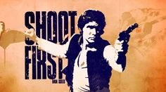 Han And Leia, First Period, Original Trilogy, Han Solo, Harrison Ford, Shots, Star Wars, Studio, Classic