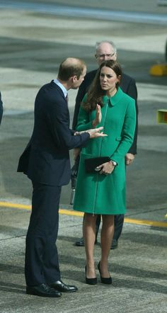 Duke and duchess of Cambridge arrive in Hamilton New Zealand today