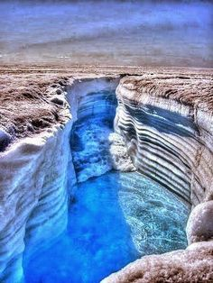 I am bigger than Grand Canyon... -- Greenland's Grand Canyon or Grand Canyon of Greenland is a tentative name for the canyon of record length discovered underneath the Greenland ice sheet as reported in the journal Science on 30 August 2013 (submitted 29 April 2013), by scientists from the University of Bristol, University of Calgary, and University of Urbino, who described it as a mega-canyon...