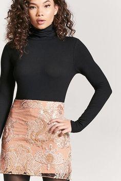 Lace Sequin Mini Skirt - Women - 2000208154 - Forever 21 EU English