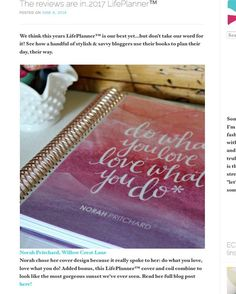 Wow! Thank you @erincondren for featuring my review of the 2017 LifePlanner! I use my ECLP everyday & my life is simply better for it. #erincondrenlifeplanner #willowcreslanelife #eclp2017 @samanthakuhr