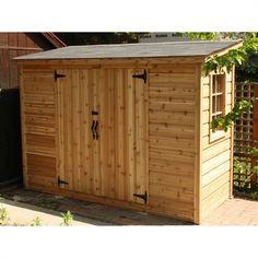 Summerwood Products Storage, Tool & Garden Shed SA4X Sarawak Storage Shed