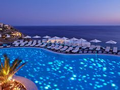 Royal Myconian Hotel & Thalassa Spa 5 Stars luxury hotel in Elia Offers Reviews