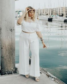 Plus Size Models Sizzle at the New York Fashion Week Fat Fashion, Curvy Women Fashion, Plus Size Fashion, Plus Size Looks, Plus Size Model, Chic Outfits, Pretty Outfits, Fashion Outfits, Plus Zise