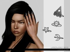 Leah Lillith's LeahLillith Underworld Rings