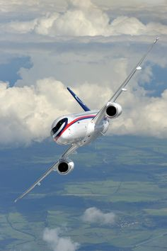 """The Sukhoi Superjet 100 """"Implementation Procedures for the Russia-Italy Bilateral Airworthiness Agreement"""", announced yesterday in Rome. Aviation News, Aviation Industry, Sukhoi Superjet 100, Rome, Transportation, The 100, Aircraft, Italy, Vehicles"""