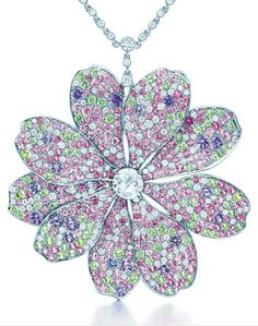 Tiffany & Co. 2014 Blue Book Flower Pendant