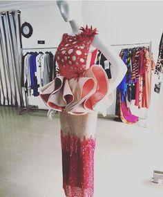 Fabric Inspiration @styletemple ✨✨❤️❤️❤️❤️✨✨❤️❤️ pic via @bellanaijastyle