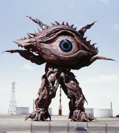 Gan Q - Ultrman monster kaiju