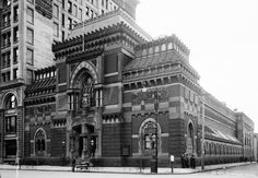This is the facade of the main PAFA (Pennsylvania Academy of the Fine Arts) building, at Broad and Cherry Streets in Center City Philadelphia. It was built in 1871. Abby Heller-Burnham, Mary Harju, and Jenny Kanzler are all PAFA graduates.