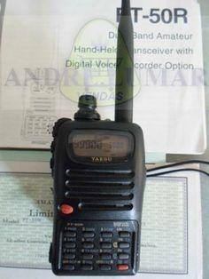 Radio Ht Yaesu Dualband Ft-50r 75mhz À 999.000mhz