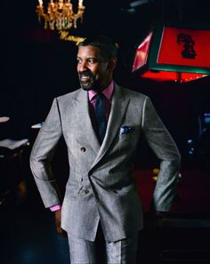 GQ USA, October 2012 with Denzel Washington - Pure Style