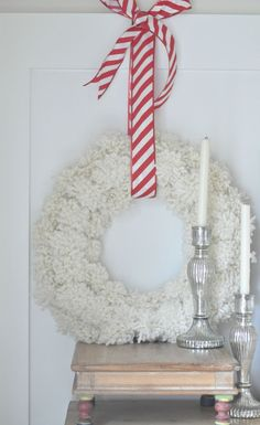 The Anthropologie Knock-Off Wreath » Between You & Me DIY tutorial