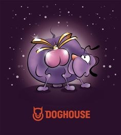Our own label for our christmas wine.  www.doghouse.no