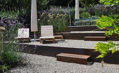grünwerk 1 - garten Outdoor Furniture Sets, Outdoor Decor, Jenni, Garden Ideas, Houses, Interior, Home Decor, Stairs, Arquitetura