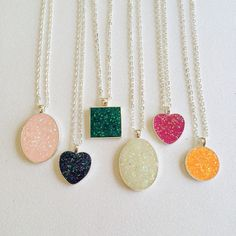 Hey, I found this really awesome Etsy listing at https://www.etsy.com/listing/225766772/holographic-glitter-necklaces