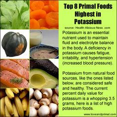 Potassium-rich meals can lower the danger of high bloodstream pressure, stroke, and cardiovascular disease.