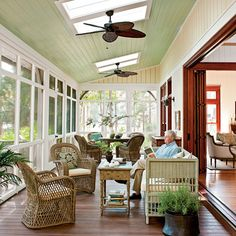 Outdoor Rooms: Screened Porch
