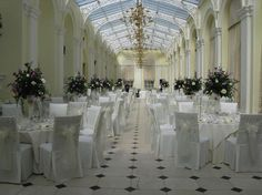 If you are dreaming of a fairytale wedding then getting married in a palace must be top of your list! Blenheim Palace is home to the Duke and Duchess of Marlborough, was the birthplace of Sir Winston Churchill and is a World Heritage Site. Country House Wedding Venues, Wedding Venues Uk, Christmas Party Venues, Wedding Centerpieces, Centrepieces, Blenheim Palace, Ruby Wedding, Fairytale Weddings, Wedding Mood Board