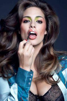 carine roitfeld bazaar beauty2 Carine Roitfelds First Beauty Story for Harpers Bazaar with Ashley Graham, Carolyn Murphy + More