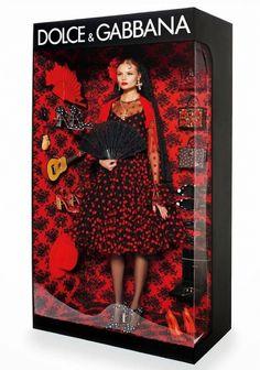 Dolce & Gabbana Barbie doll // Photo by Giampaolo Sgura for Vogue Paris