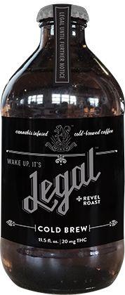 Cold Brew Black – Marijuana infused coffee. Yes, please.