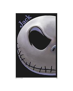 Nightmare Before Christmas Jack Poster - Spencer's