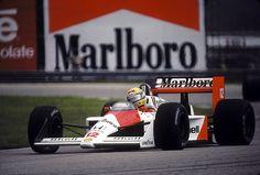 Senna, McLaren  - Brazil GP 1988