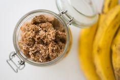 RAW banánová granola za pár vteřin - RAW recept na cesty i do práce - Love of Raw