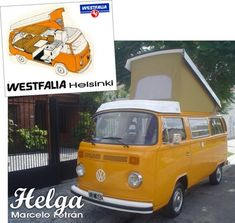 Helga vw westfalia Helsinki 1977