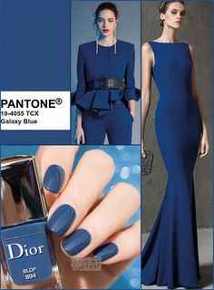 More Than 95 Fall-Winter - Color Report Galaxy Blue * Fall-Winter Colo. More Than 95 Fall-Winter - Color Report Galaxy Blue * Fall-Winter Color Report: Galaxy Blue * Fashion Colours, Blue Fashion, Colorful Fashion, Look Fashion, Winter Fashion, Fashion Moda, Fast Fashion, Fashion Games, 2020 Fashion Trends