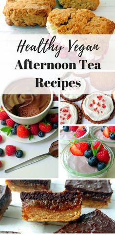 Healthy Vegan Afternoon Tea Dessert Recipes