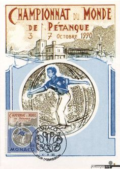 French game of Boules- Petanque