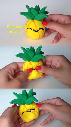 My favorite homemade squishy! Check out my tutorial on YouTube!