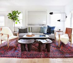 The lovely Shannon of re:address introduced me to todays fabulous interior designer and I couldn't be more thankful. Exactly my style. A little bit modern, a little bit vintage, a little bit boho a