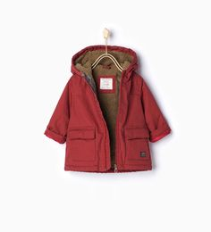 RubberiZed parka-Coats-Baby boy (3 months - 3 years)-KIDS | ZARA United States