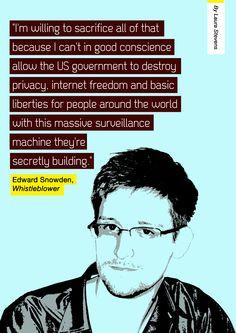 Edward Snowden is an American hero