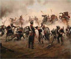 Schieramento dell'artiglieria - Augusto Ferrer-Dalmau