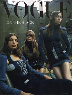 Vogue Italia by Steven Meisel