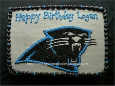 Carolina Panthers Cake #1
