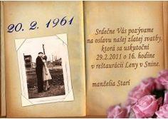 Pozvánka na oslavu jubilea - JU022 Frame, Picture Frame, Frames