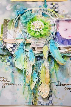 Shimmerz Paints This is my idea of a dream catcher! WOW!!!