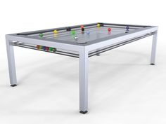 Exceptionnel The Phoenix Pool Table By Elite Innovations Stays True To The Brands Modern  Take On This Games Room Classic, With A Striking Glass Top And Minimalist  Steel ...