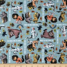 Where The Wild Things Are fabric